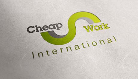 Cheap Work logó+arculat