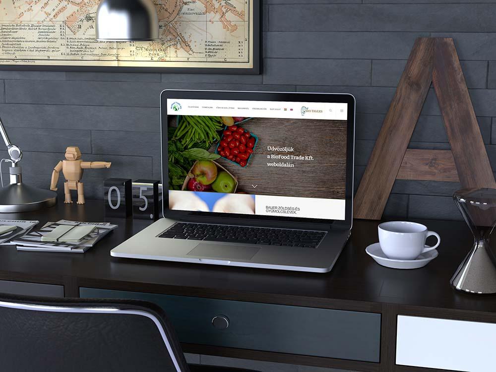 Biofood Trade Kft.weboldala