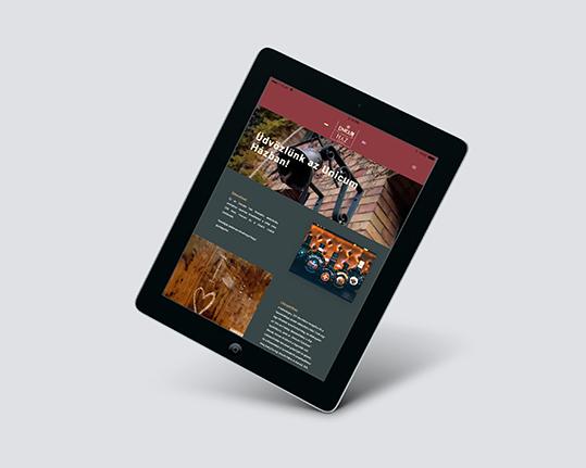 Unicum Ház weboldal
